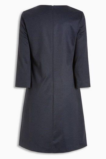 Next Kleid mit texturierten Knopfdetails