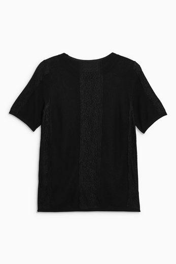 Next Pullover mit Spitzendetail