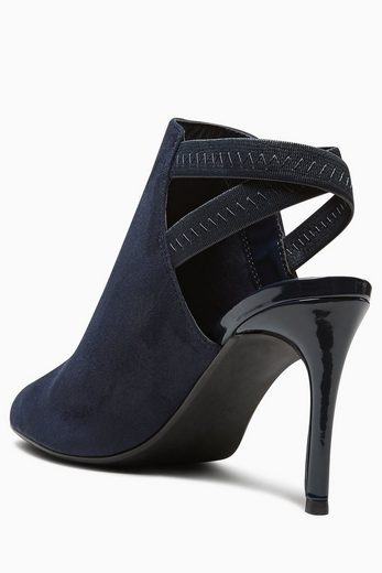 Next Elastic Low Shoes With Heels