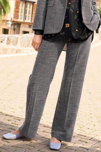 Next Strukturierte Hose mit legerer Silhouette