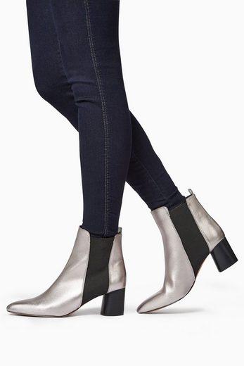 Next Chelsea-Stiefelette mit rundem Blockabsatz