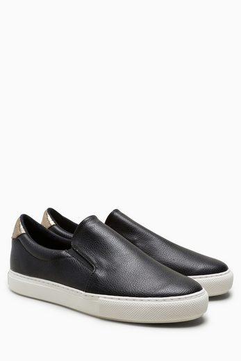 Next Slipper im Sneaker-Look