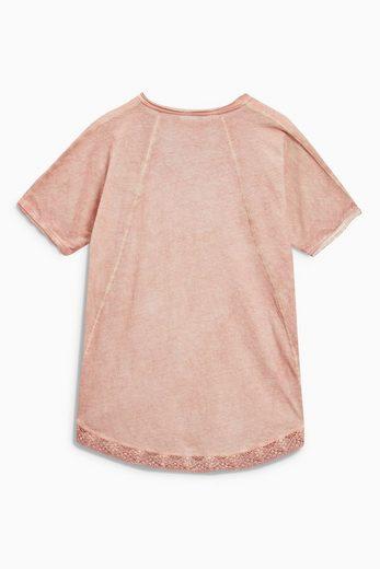 Next Ausgewaschenes T-Shirt