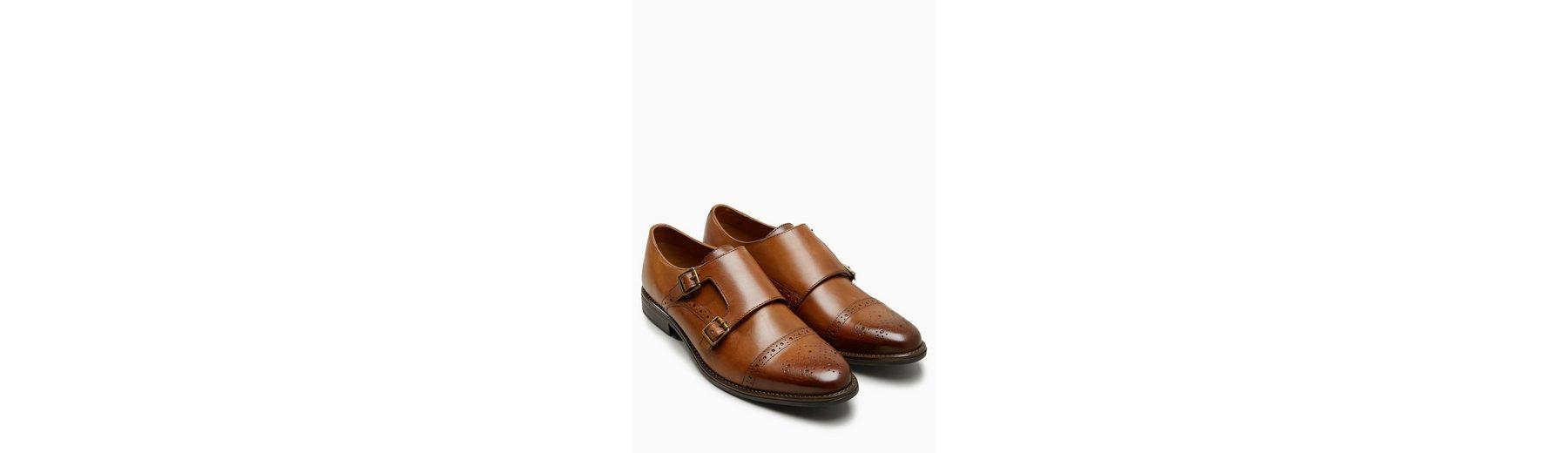 Erkunden Next Polierter Monkstrap-Schuh Billigshop Verkauf Der Billigsten Rabatt 100% Garantiert Rabatt Niedrig Kosten VMC9x0