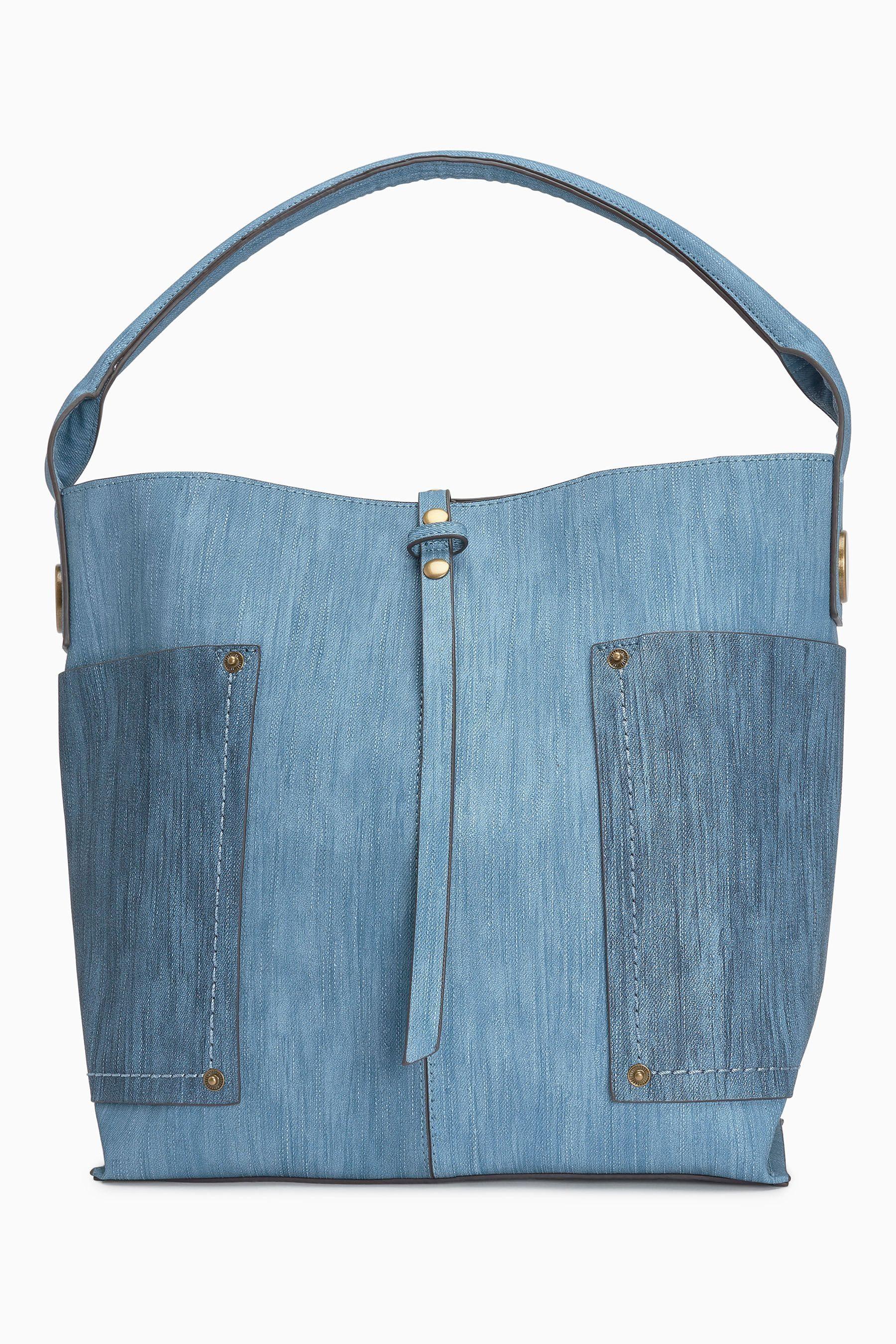 Next Hobo-Tasche mit Fächern