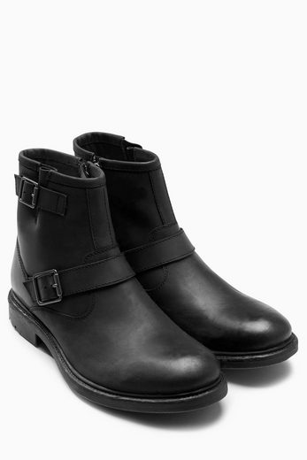 Next Boots With Belt Buckle And