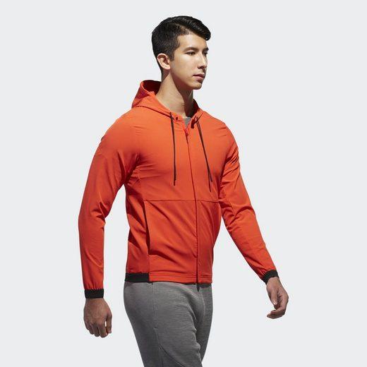 adidas Performance Funktions-Kapuzensweatjacke Trainingsjacke