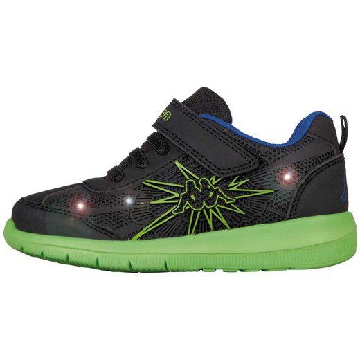 Kappa »BANG K« Sneaker mit cooler Blinkfunktion
