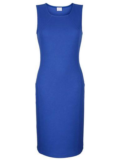 Alba Moda Kleid aus leicht gerippter Ware