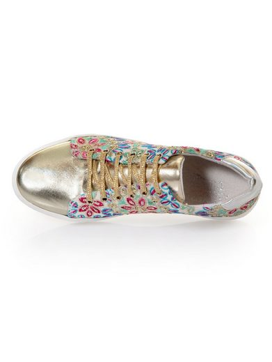 Alba Moda Sneakers In Floral Pattern