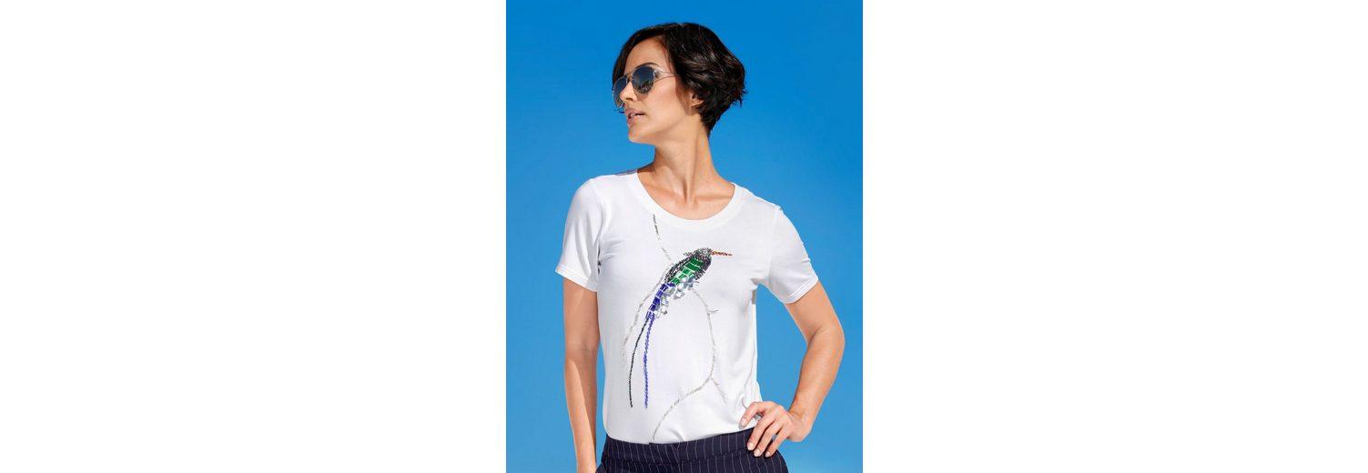 Amy Vermont Shirt mit Perlenmotiv im Vorderteil Billig Verkaufen Gefälschte 2018 Günstiger Preis 0lus3X
