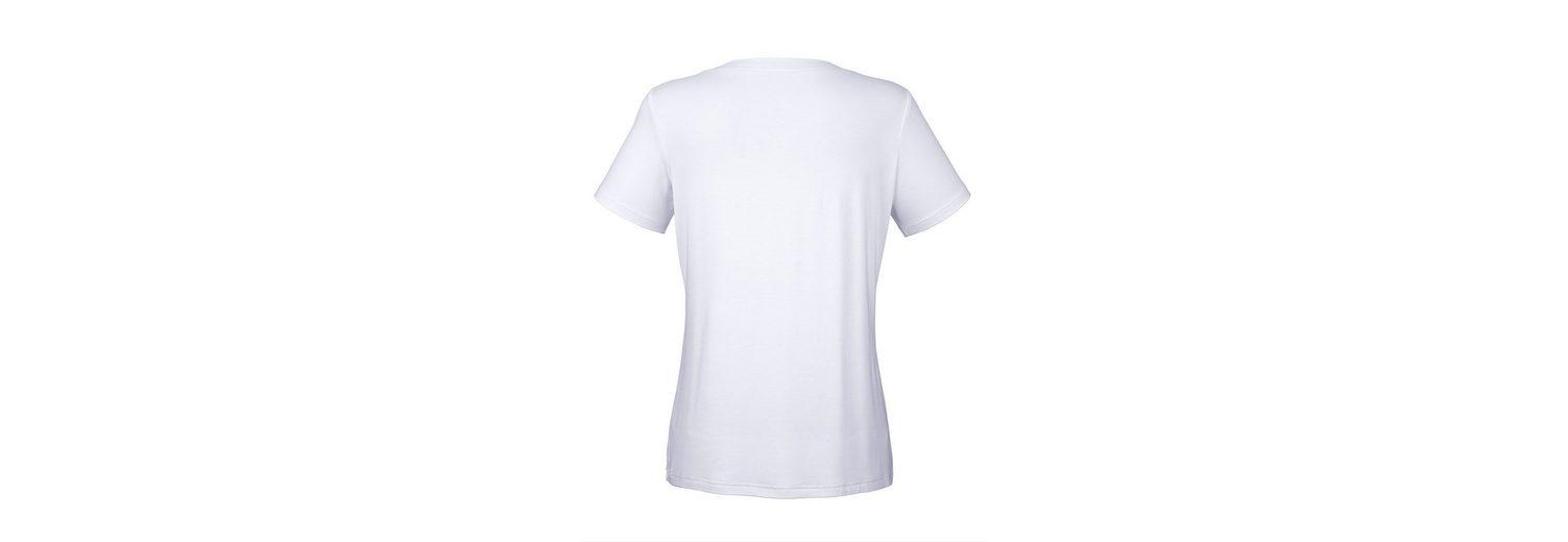 Verkauf Versorgung Amy Vermont Shirt mit Perlenmotiv im Vorderteil Versorgung Günstiger Preis Billig Verkaufen Gefälschte Unter 50 Dollar Günstig Kaufen Amazon JZo7tZK
