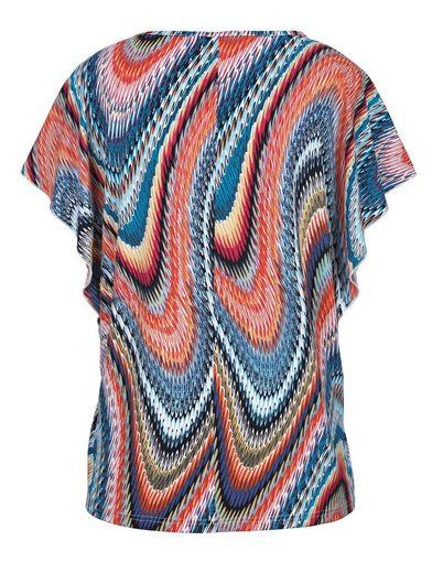 MIAMODA Shirt farbenfroh bedruckt