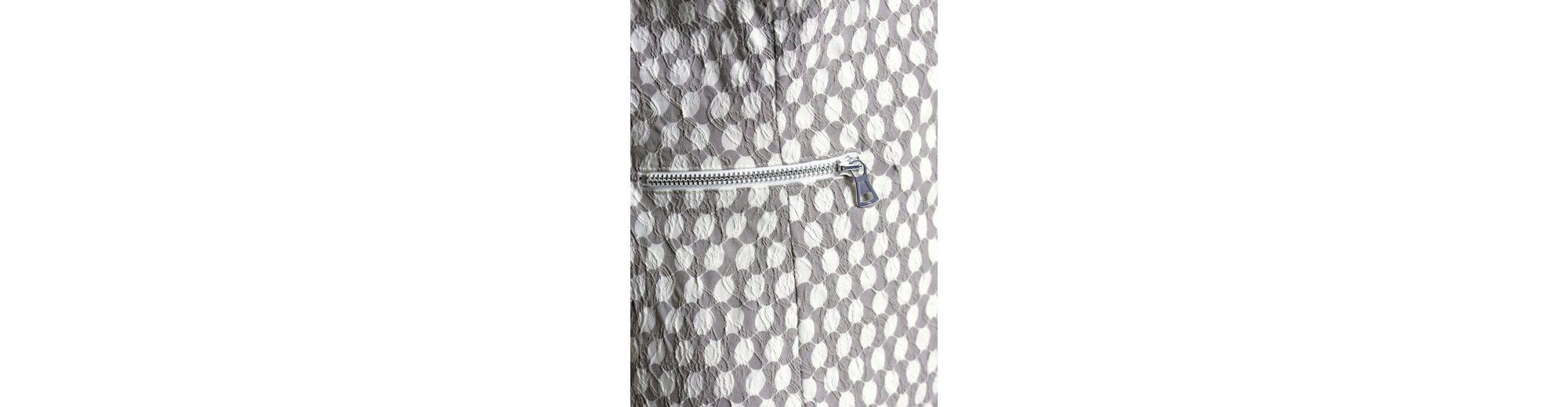 Günstigen Preis Kaufen Rabatt Um Online-Verkauf Alba Moda Kleid im Jacquard-Tupfendessin Steckdose Freies Verschiffen Authentische 2018 Kühl Q9cDXml