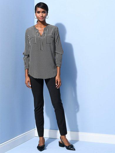 Alba Moda Bluse aus hochwertiger Seide
