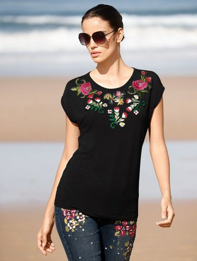 Amy Vermont Shirt With Flower Patches