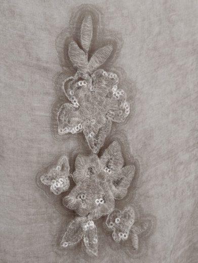 Alba Moda Bluse aus zartem Seidenchiffon