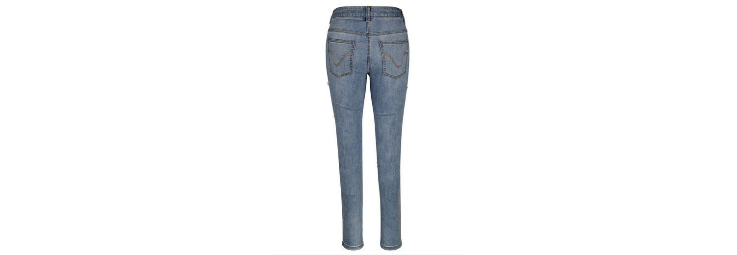Bequem Online Rabatt Bester Platz Amy Vermont Jeans mit dekorativen Schleifen psks3d