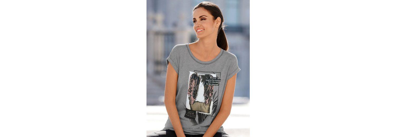 Auf Heißen Verkauf Beliebt Amy Vermont Shirt mit platziertem Druck Online-Suche Zu Verkaufen yK3dQokj