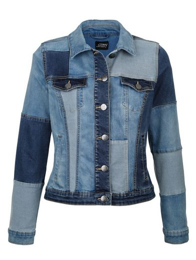 Amy Vermont Jeansjacke gepatcht
