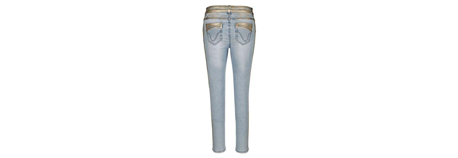 In Deutschland Günstig Online Amy Vermont 7/8-Jeans mit Details in goldener Farbe Original Günstig Online Verkauf Genießen Günstig Kaufen Viele Arten Von cLl3nFHk