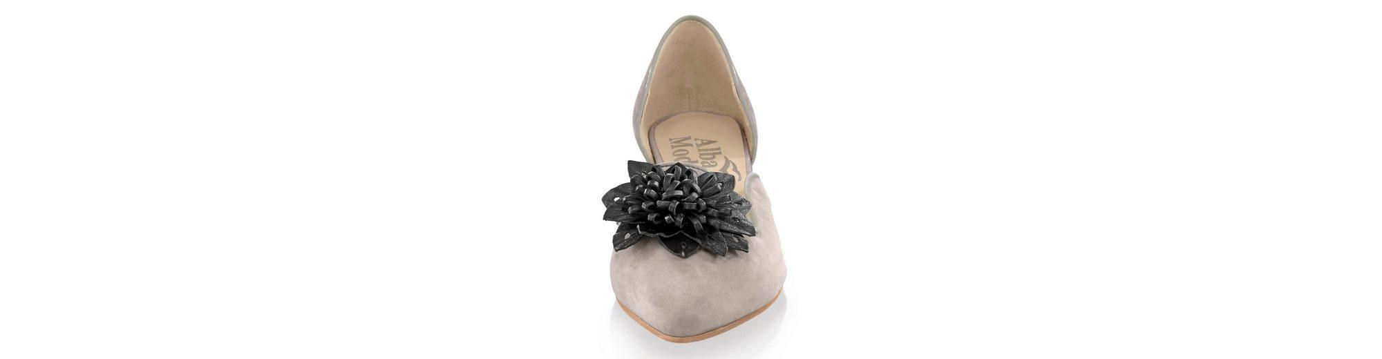 Footlocker Günstiger Preis Alba Moda Ballerina mit Lederapplikation in Blütenform Shop Günstigen Preis Hohe Qualität Online Kaufen H4y1hgMgGJ