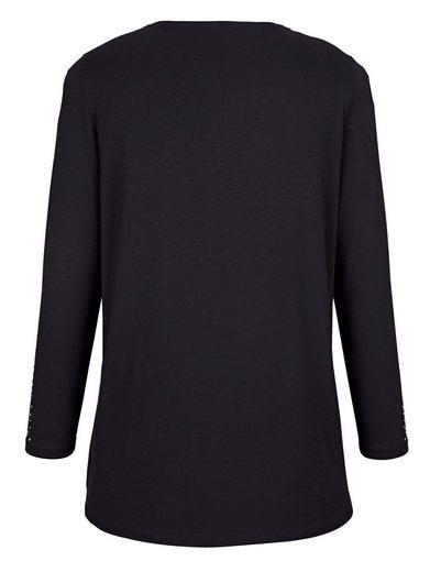 MIAMODA 2-in-1 Shirt in weich fließender Viskose-Stretch-Qualität