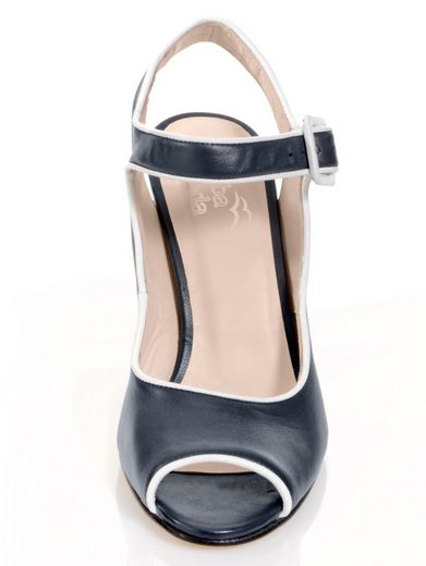 Alba Moda Sandalette im maritimen Look