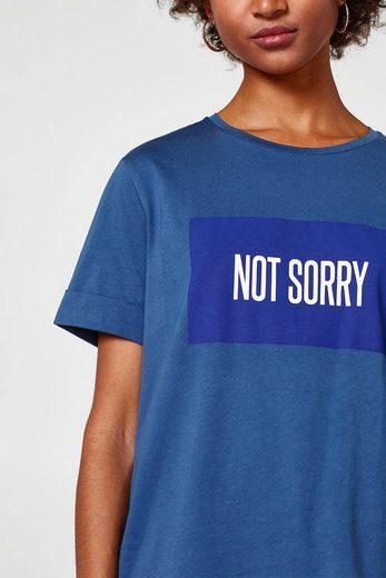 ESPRIT Oversized-Shirt aus Organic Cotton