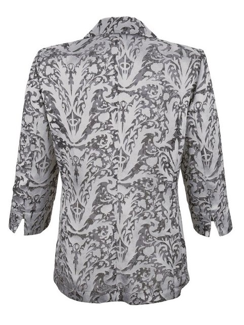 mona -  Blusenjacke aus Ausbrennerqualität