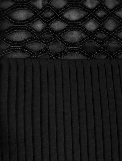 Mona Kleid mit Plissee-Falten