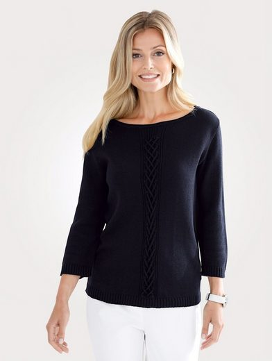 Mona Pullover With Zierflechtband