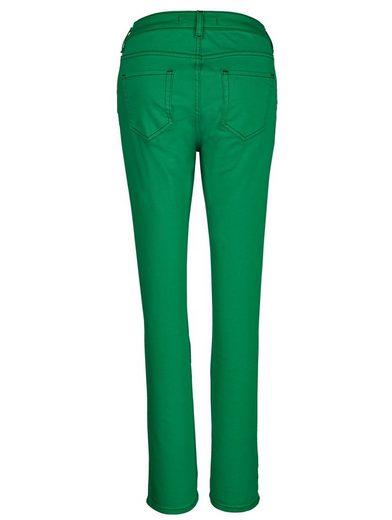 Pantalon Mona En Mélange De Coton Facile Dentretien