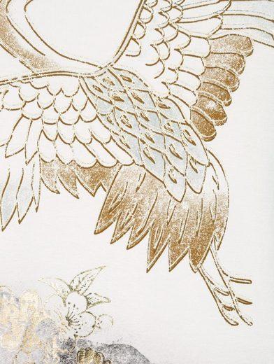 Mona Druckshirt mit Goldfolien-Druck