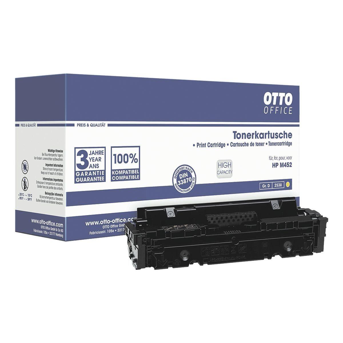 OTTOOFFICE STANDARD Toner ersetzt HP HP 410X »CF412X«