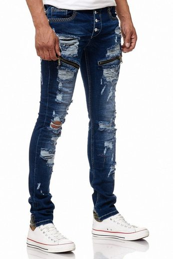 Rusty Neal Jeans im Destroyed-Look