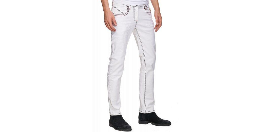 Rusty Neal Jeans mit kontrastierten Nähten Gutes Verkauf Günstiger Preis NjS1pNNbbK