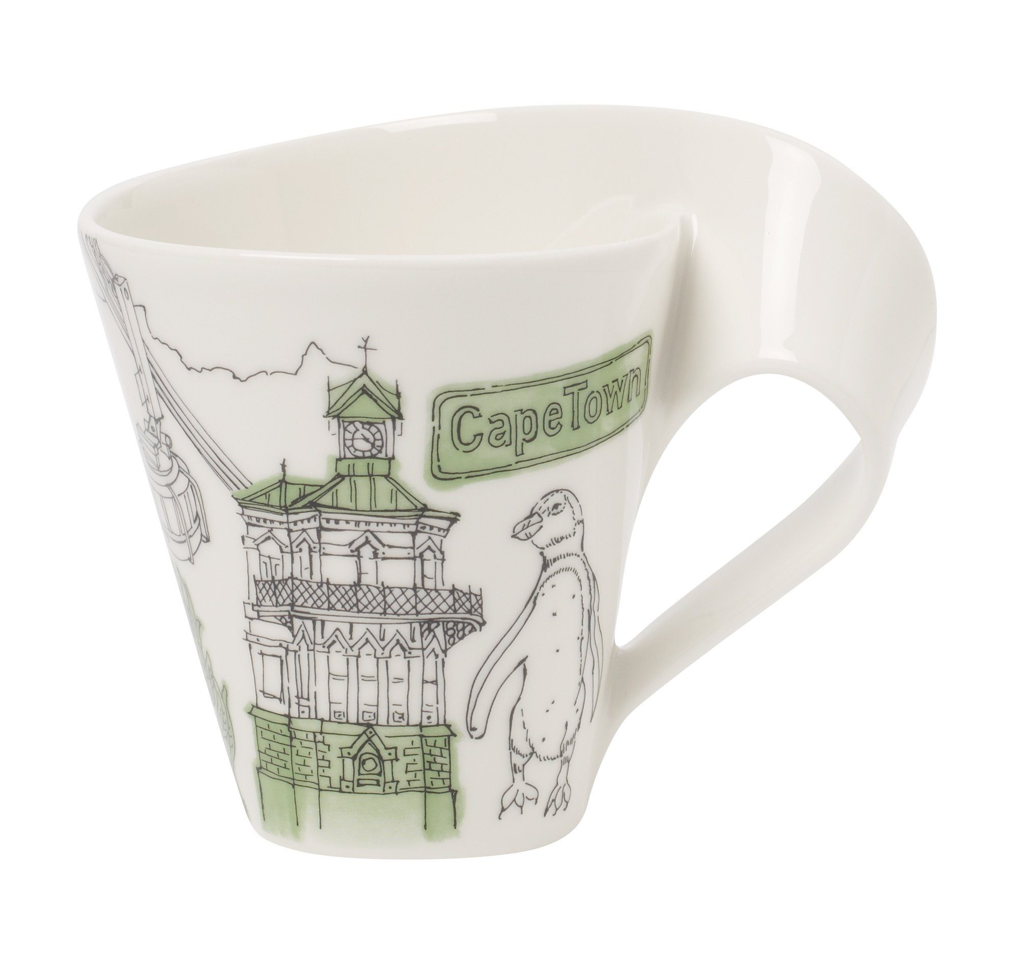 Villeroy & Boch Kaffeebecher Kapstadt »Cities of the World«