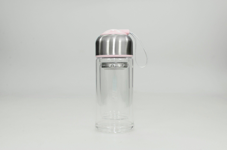 HTI-Line Trinkflasche »Rosa«