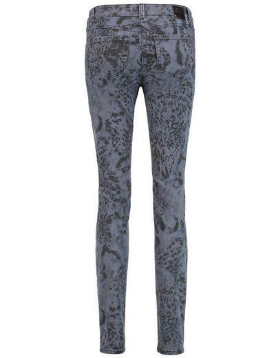 Gerry Weber Hose Jeans lang 5-Pocket mit Leodessin Best4me Roxeri