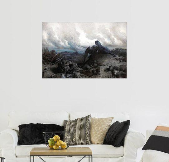 Posterlounge Wandbild - Gustave Doré »Die Enigma«
