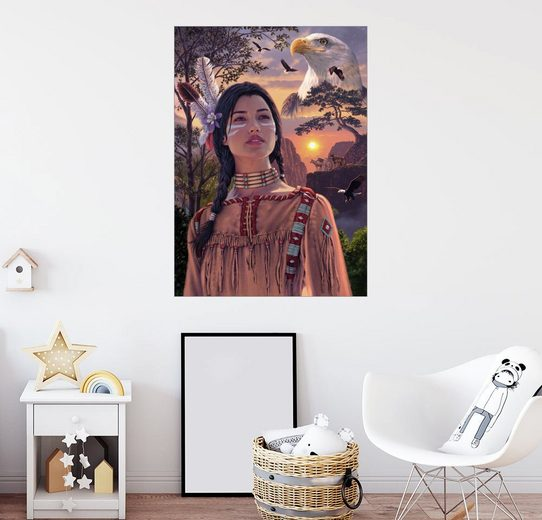 Posterlounge Wandbild - Steve Read »Geschichten erzählen«