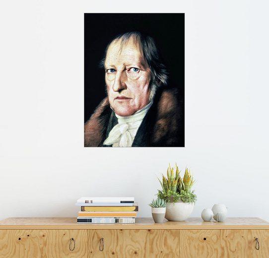 Posterlounge Wandbild - Jacob Schlesinger »Georg Wilhelm Friedrich Hegel«