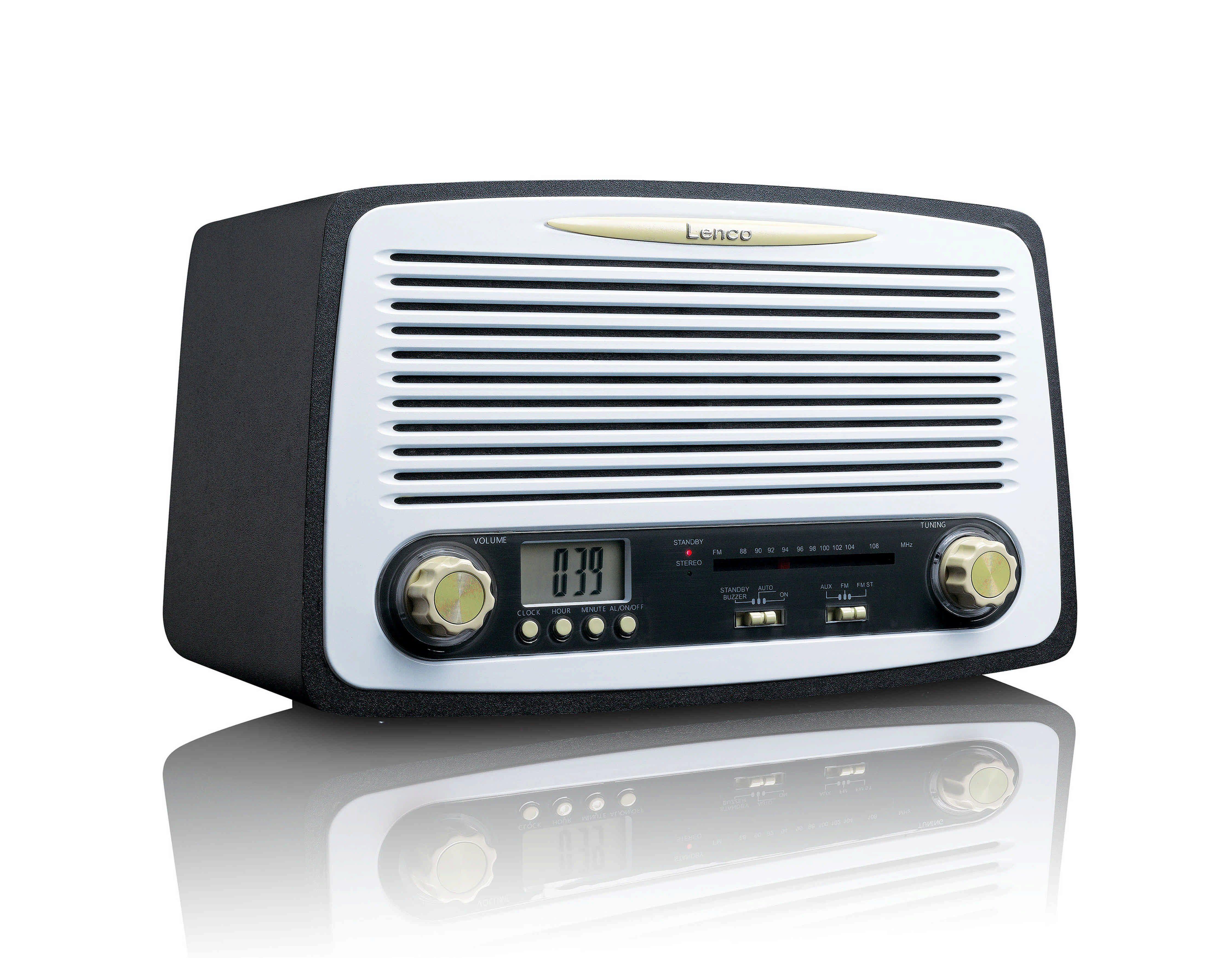 Lenco FM Stereo Radio mit Weckfunktion »SR-02«