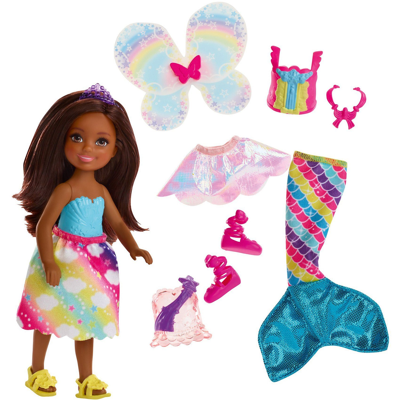 Mattel® Barbie Dreamtopia 3-in-1 Fantasie Chelsea (brünett)