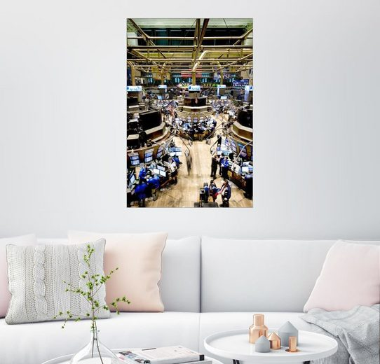 Posterlounge Wandbild - xPACIFICA »Die New Yorker Börse«