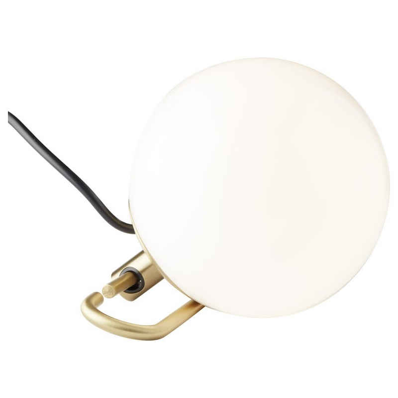 Artemide LED Tischleuchte »Tischleuchte nh1217 in Weiß und Messing E14«, Tischleuchte, Nachttischlampe, Tischlampe