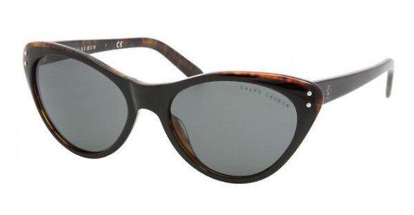 Ralph Lauren Damen Sonnenbrille » RL8070«, schwarz, 526087 - schwarz/grau