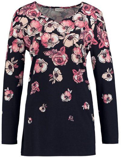 Gerry Weber T-Shirt 1/1 Arm Longshirt Blossom