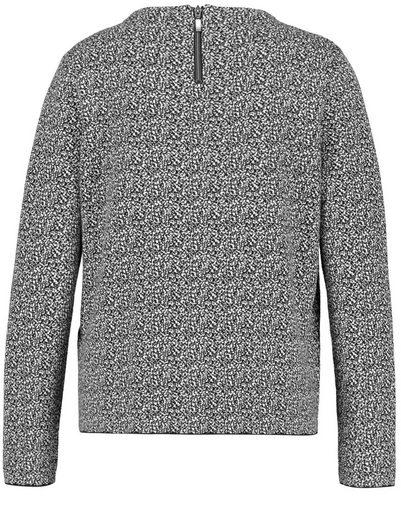 Gerry Weber Pullover Langarm Turtle Pullover mit Bicoloroptik